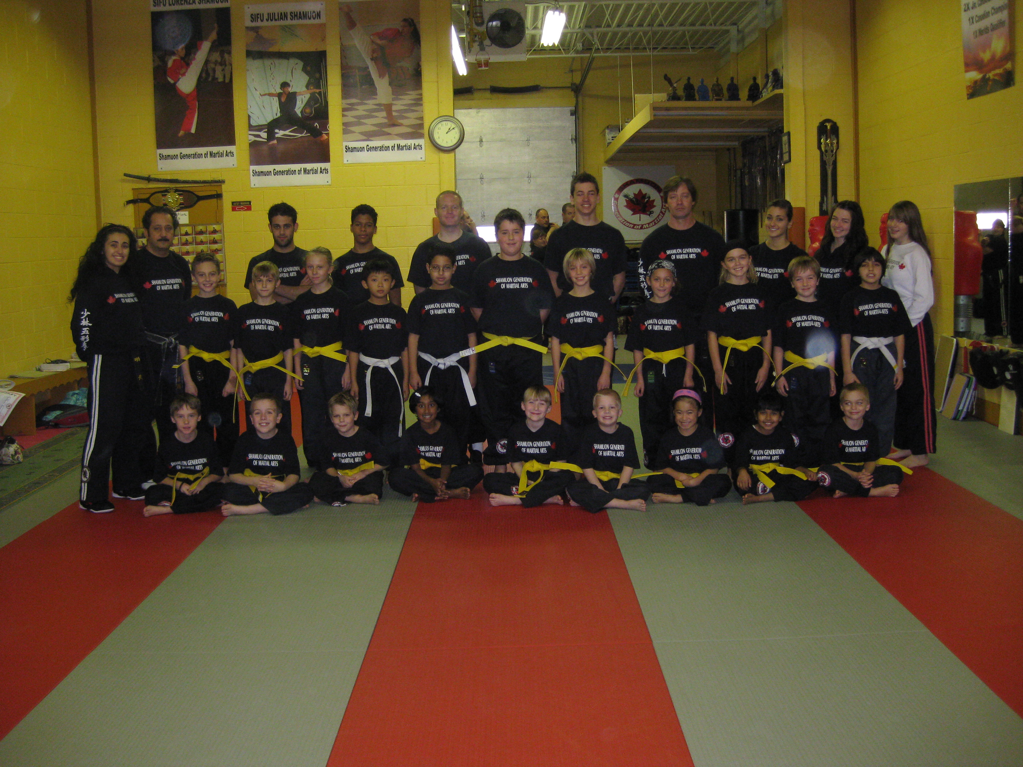who went for their yellow stripes and jr yellow belts on saturday